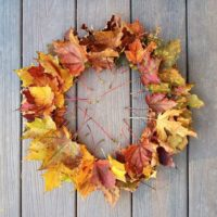 秋の拾い物☆「落ち葉」アートをインテリアに取り入れてみませんか♪