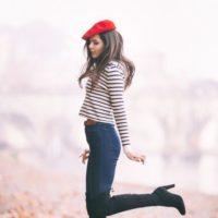 レトロキュートなベレー帽♡秋の素敵な大人女子のベレー帽コーデ集