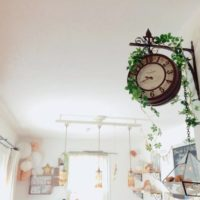 オシャレで便利♡インアパクト大な両面時計のある素敵な部屋特集♪