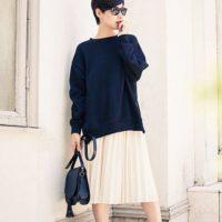 大人可愛くをかなえたい人に♡今季は「GU」の秋冬スカートがマストです!