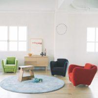 暮らしをもっと楽しいものに。暮らしに馴染むIDÉE(イデー)のソファが可愛い!