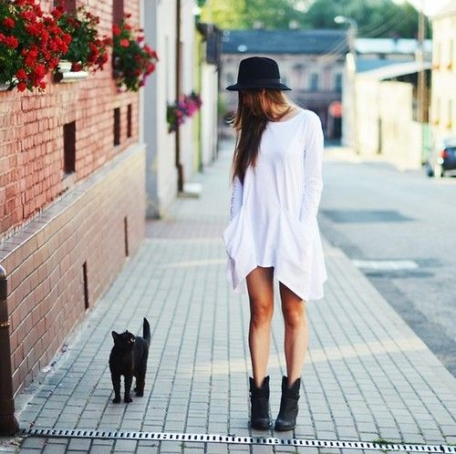 motorcycle-boots-white-dress-street-style