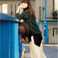 大人女子のスカート☆プリーツスカートを使ったコーディネート集