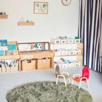 もう部屋が片付かないとは言わせない!子どものおもちゃを可愛く収納するアイディア