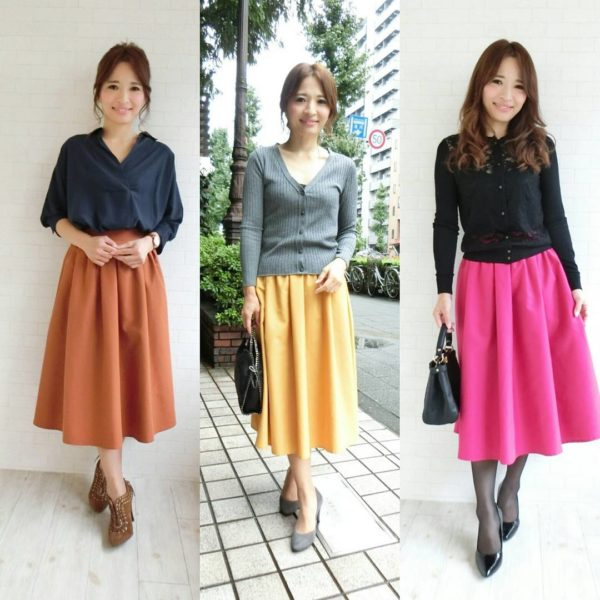 2016年秋を彩るスカートはミモレ丈コーデで決まり!綺麗め ...