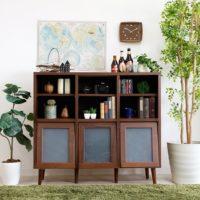 オシャレな「見せる収納家具」で、機能的かつ美的なインテリアコーデしよう♪