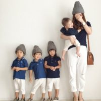 ユニクロの親子コーデ12選!子供とお揃いでファッションを楽しもう☆