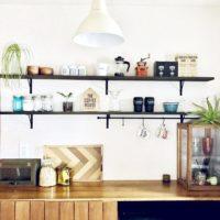 自宅にいながらカフェ気分♪人気のカフェ風キッチンと見せる収納をご紹介します