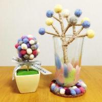 フェルトボールで温もりのある部屋作り♡飾りたくなる素敵な作品をご紹介します