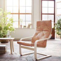 IKEA(イケア)のロングセラー家具、グッドデザインな一人掛けチェアポエング