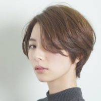 冬の大人ショートヘア☆前髪はしっかり作るノーバングがおすすめ♪