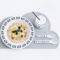 食卓の風景をより楽しく♪雲のかたちが愛らしい「KG design」のシリコン製プレイスマット
