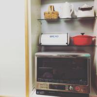 レンジはどこにどうやって配置してる?キッチンの中でも重要なレンジ台に注目!