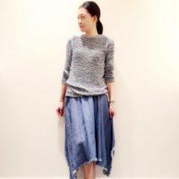 フワフワ裾の「イレギュラーヘムスカート」で、秋冬も大人カワイイコーデに!