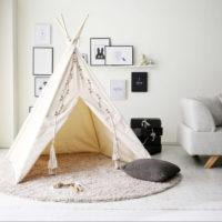 シーズンオフはおうちでアウトドア気分!室内で楽しむテントのアイディア集