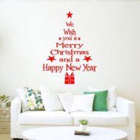 プチプラで簡単DIY!今年のクリスマスはウォールツリーで場所取らず☆