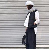 いつものコーデをワンランクおしゃれに!白ベレー帽をプラスして大人かわいいカジュアルスタイル☆