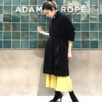 シンプルだけど可愛い♡オシャレなADAM ET ROPE'のノーカラージャケットは万能アイテム
