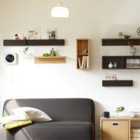ロングセラー『無印良品~壁に付けられる家具』で我が家の壁がおしゃれに変わります♡