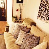 簡単にお部屋をイメチェン!冬素材の素敵なクッションコーデをご紹介