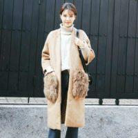 見た目もポカポカ♡大人かわいい「ファーポケットコート」のコーデ12選