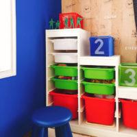 収納を素敵に☆IKEA(イケア)のトロファストで子どものおもちゃもきちんと片付く♡