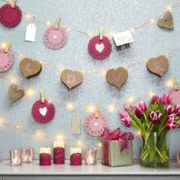 せっかくのバレンタイン☆お部屋もバレンタイン仕様にしてあま〜い空間に♪