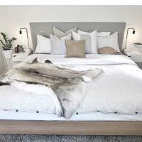 北欧デザインが盛りだくさん☆IKEAテキスタイルでつくるベッドルームコーデ集♪