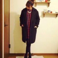 真冬にこそ着てほしい♡着こんでも着膨れしないGUのダブルテーラードコート