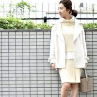 着込みがちな冬コーデをすっきり♪ニットタイトスカートのあったか♡カワイイコーデ集