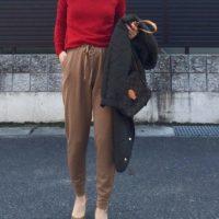 UNIQLOのジョガーパンツコーデ特集☆履きやすくてシルエットがきれい!