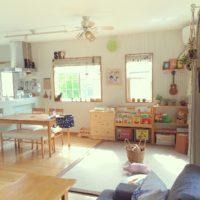 子供と暮らすリビングルーム。スッキリ綺麗に見せるコツを学ぼう☆