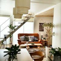 スケルトンな階段で、室内にある階段の圧迫感を取り除いてみては?