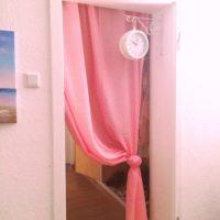 暖簾を使うとお部屋の空間が広くなってイメージチェンジができちゃう♪