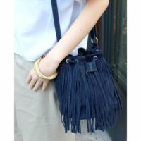 2015年トレンドアイテム☆フリンジバッグを取り入れよう!