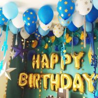 HAPPY BIRTHDAY !お洒落で可愛い飾り付けとおうちで楽しむお誕生日会のコーデ集