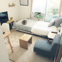 ひとり暮らしワンルームのソファの配置例ってどんなの?ご参考例いろいろ♫