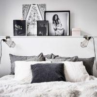 黒白メインで作る!スタイリッシュでミニマルなベッドルーム集