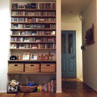 増えるたびに置き場所に困る、我が家のCDのスタイリッシュな収納空間☆