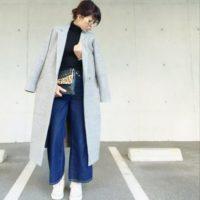 GUの「ロングチェスターコート」は大人女子のマストハブアイテム!