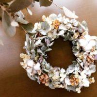 クリスマスだけじゃもったいない!お洒落なリースを飾って花のある暮らしを楽しもう♡