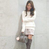 冬こそミニスカート☆手抜き感を出さないオシャレスタイルはミニスカートがおすすめ