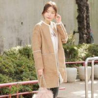 今冬もデニムに合わせたいアウターNo. 1♡ムートンコートはデイリー服を格上げ!