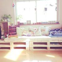 木製パレットの家具で映画に出てくるようなおしゃれな部屋にしよう♡
