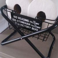 ダイソー・セリアのパイプ椅子を、男前なラックやテーブルにリメイク☆