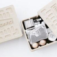 お気に入りアイテムで楽しく片付け♪無骨な見た目がたまらない「 Molded Pulp Box 」
