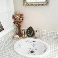 こんな洗面所に憧れる!洗面所を華やかにするお洒落な洗面ボウル実例集☆