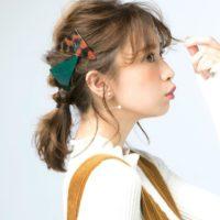 ヘアアクセサリーを使ったアレンジ集☆シンプルな髪型もグンとおしゃれに☆