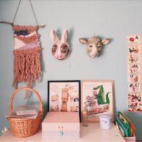 壁にあたらしい彩り方を♡ウィービングタペストリー使ったインテリア