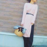 2017年注目のアイテム、GUのカバードレスを使った春コーデがかわいい♡